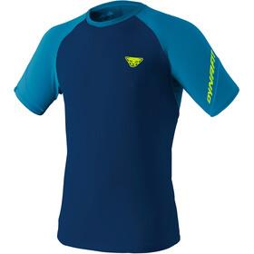 Dynafit Alpine Pro Camiseta Manga Corta Hombre, azul